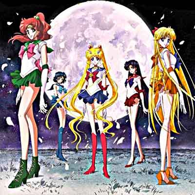 sailor moon top anime