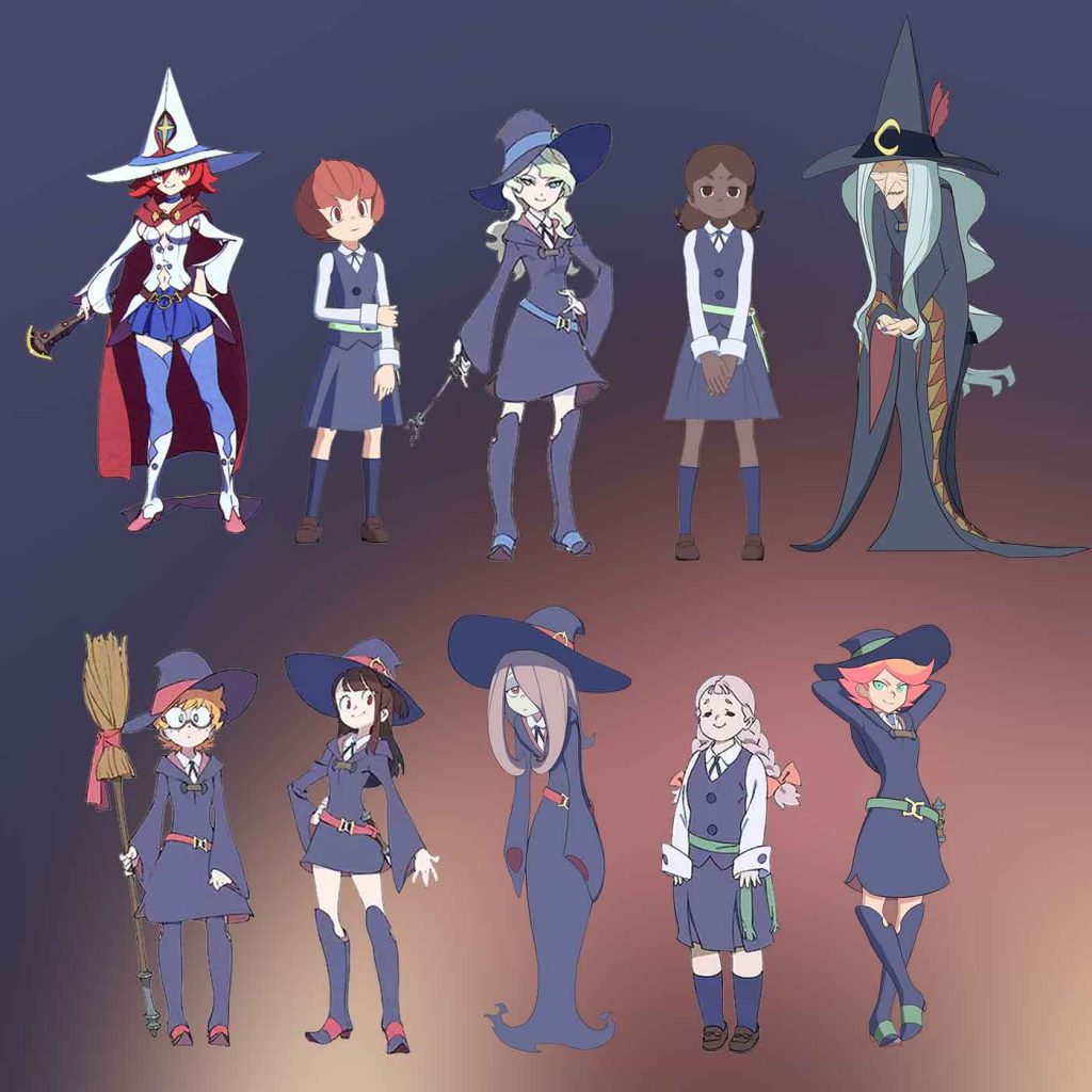 little-witch-academia-characters-set