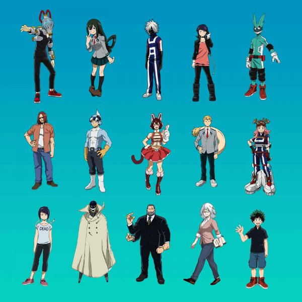 my-hero-academia-characters-set