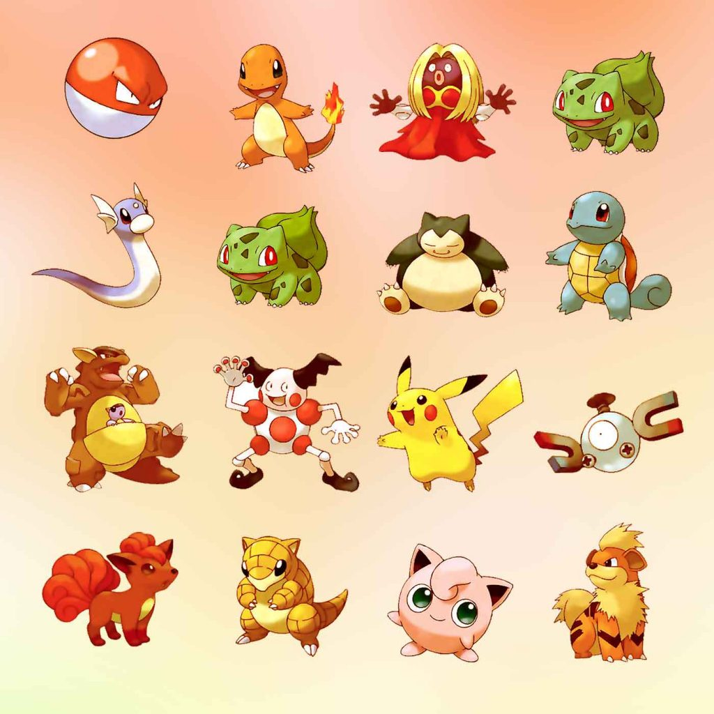 pika-and-squad-characters-set