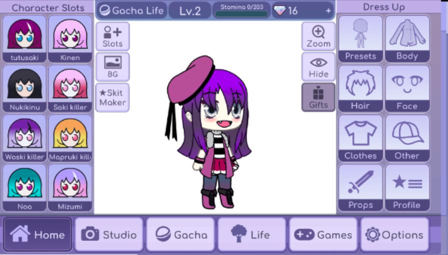 gacha life animation
